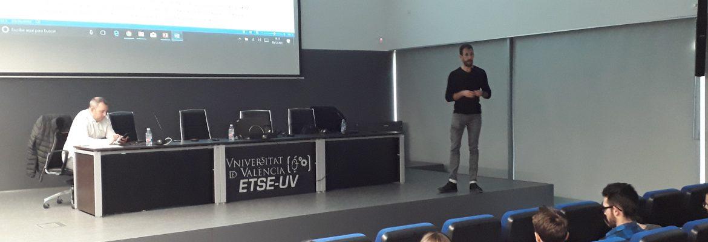 El CNIPJ en el Día de la Profesión del Teleco 2017 de la ETSE de la Universitat de València
