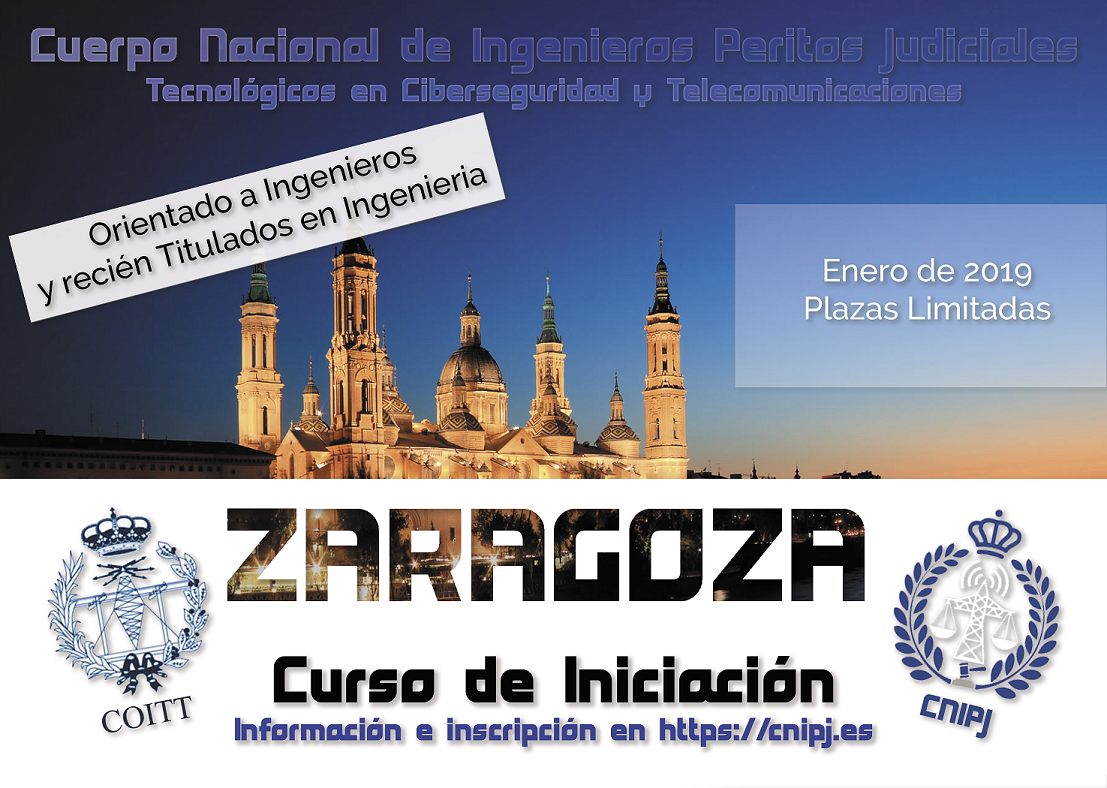 CURSO DE INICIACIÓN DEL CNIPJ ENERO 2019 EN ZARAGOZA