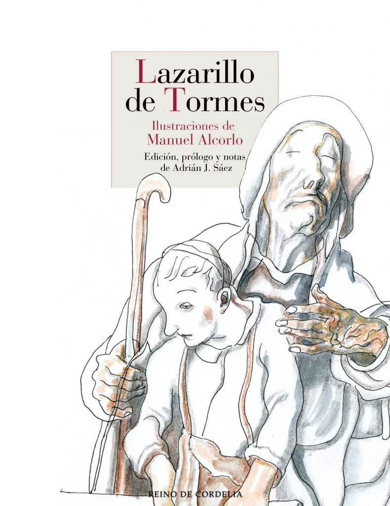 El Lazarillo de Tormes, ilustrado por Manuel Alcorlo